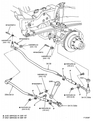 F350 Suspension Diagram