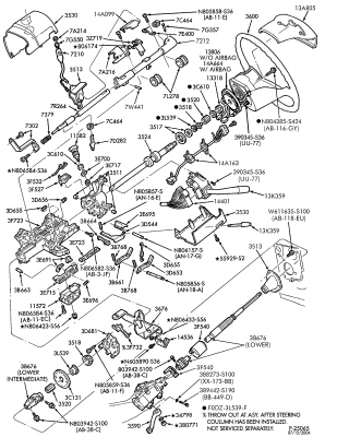 1993 Ford F 150 Parts Diagram